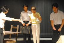 舞台の模様